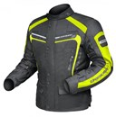 DRIRIDER APEX 3 WATERPROOF TEXTILE JACKET - BLACK / YELLOW