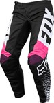 FOX 2018 KIDS 180 PANTS - BLACK/PINK