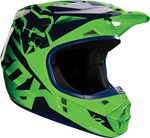 FOX 2016 V1 RACE HELMET - FLO GREEN
