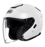 Shoei J-Cruise Helmet - Solid White