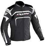 (CLEARANCE) Ixon Eager Textile Jacket (Black/White)