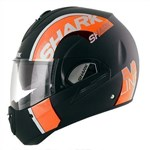 Shark Evoline 3 Drop Dual ECE Helmet - Black/Orange