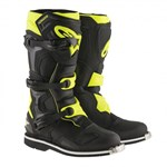 (CLEARANCE) ALPINESTARS 2017 TECH 1 BOOTS - BLACK/YELLOW FLURO