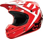 (CLEARANCE SALE) - FOX 2015 V1 RACE MOTOCROSS HELMET - RED