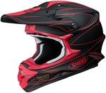 (CLEARANCE) SHOEI VFX-W HELMET HECTIC TC-1 RED