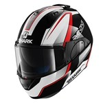 Shark EVO-ONE Astor ECE Helmet - Black/White/Red