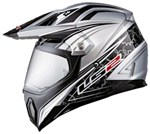 (CLEARANCE) - LS2 MX453 DUAL SPORTS HELMET