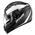 Shark S700S Lab ECE Helmet - Matt Black/White