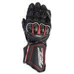 RST Tractech EVO-R Leather Gloves - Black/White