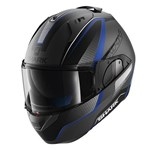 Shark EVO-ONE Astor ECE Helmet - Matt Silver/Black/Blue