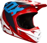 FOX 2018 V1 RACE ECE HELMET - RED