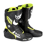 Berik 2.0 GPX Mens Leather Boots - Black/Yellow