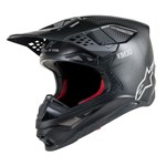 Alpinestars Supertech S-M10 Carbon Helmet - Matt Black Carbon
