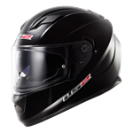 (CLEARANCE SALE) - LS2 FF320 Stream Helmet - Solid Black