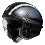 Shoei J.O Hawker TC-5 Helmet - TC-5 Black