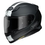 (CLEARANCE) Shoei NXR Flagger Helmet - TC-5 Black/White