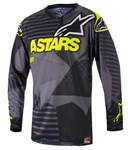 (CLEARANCE) Alpinestars 2018 RACER TACTICAL JERSEY - BLACK/YELLOW FLUO