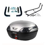 COOCASE S48 ASTRA LUXURY TOPBOX 48L - SILVER - COMPLETE KIT