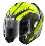 Shark Evoline Series 3 ECE Hataum Hi-Vis Yellow/Black Helmet