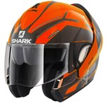 Shark Evoline Series 3 ECE Hataum Hi-Vis Orange/Black Helmet