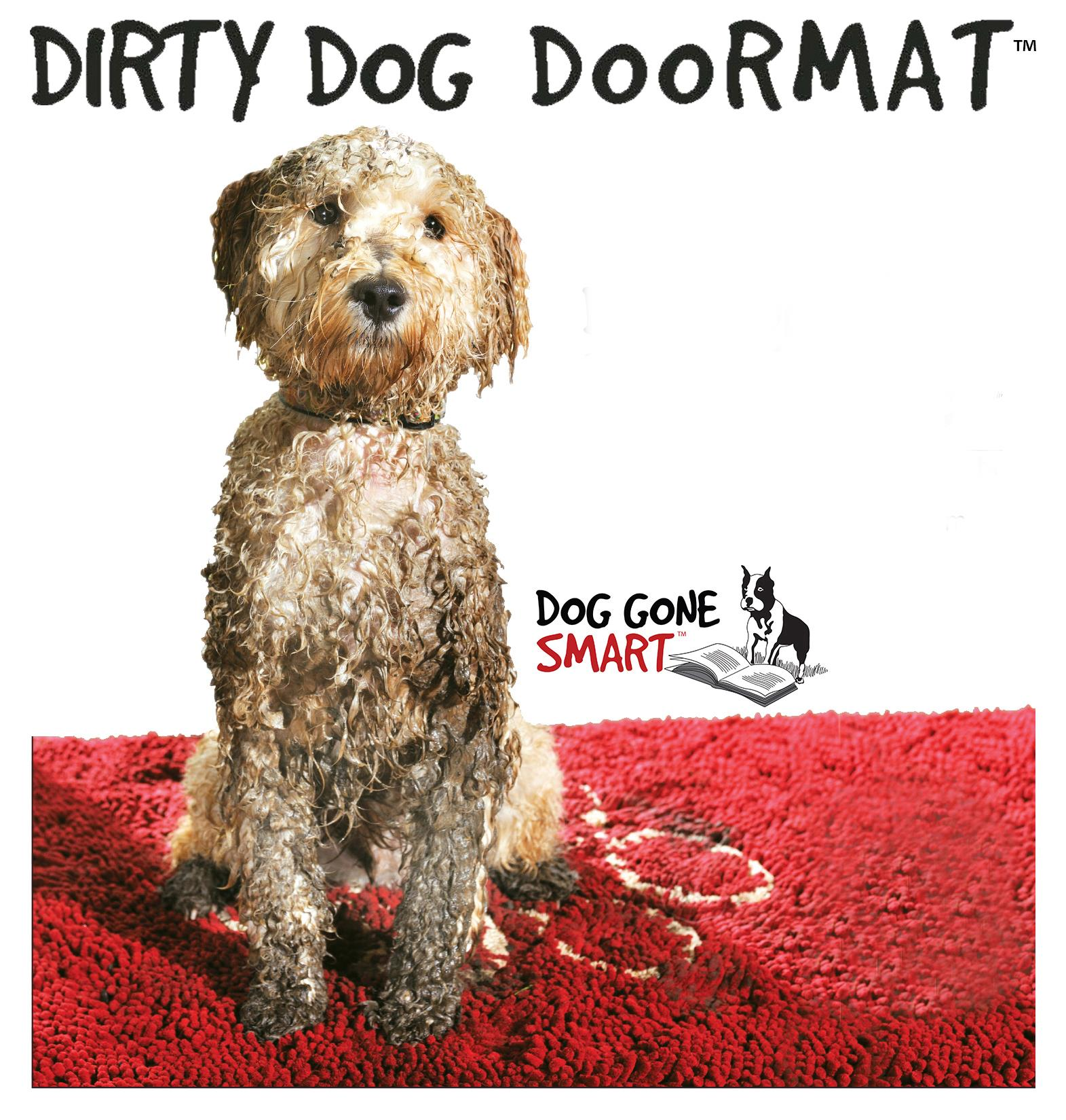 Dirty Dog Doormat Available In 4 Colours And 4 Sizes