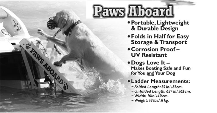 Paws Aboard Doggy Boat Ladder Bowhouse Simply The Best