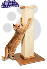 SmartCat Ultimate Scratching Post & Optional Perch