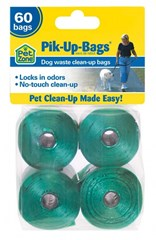 Pik-Up Bags - 100% bio-degradeable Pet Waste Bags