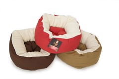 DGS Rubie Roadie round cuddler bed - Ideal for small dogs