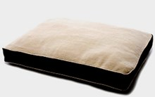 Rectangular SmartBed with Sherpa - The Ideal Winter Bed for Large Dogs