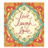 Gift Tag - Live, Laugh, Love Red