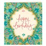 Gift Tag - Happy Birthday Turquoise