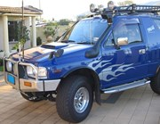Airflow Snorkel Kit Holden Frontera and Isuzu MU & Rodeo