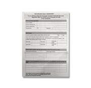 NSW Driver Worksheet Pad
