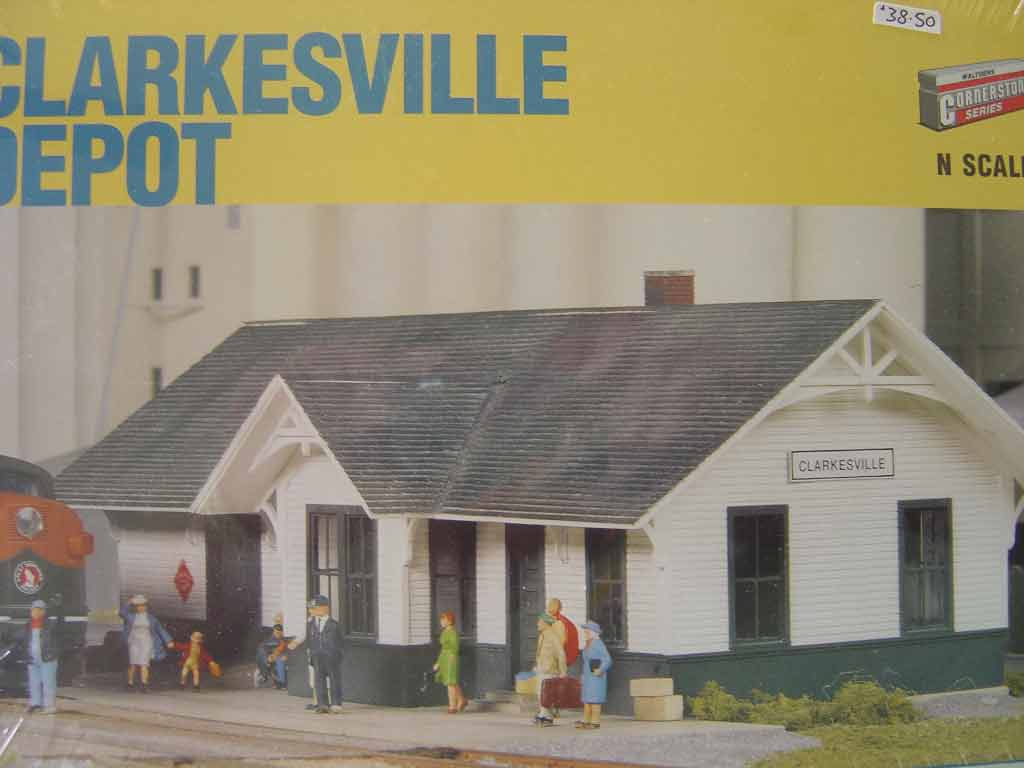 Walthers Cornerstone N/Scale Kit - Clarkesville Depot