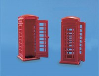 Telephone Kiosks packet of 2
