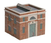Bachmann OO Scale Electrical Substation Building