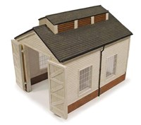 BSC44009 Bachmann 00 Scale Scene Craft Wooden Engine Shed