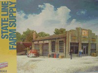 Walthers Cornerstone N/Scale Kit - State Line Farm Supply