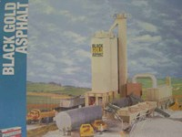 Walthers Cornerstone HO/Scale Kit - Black Gold Asphalt Plant