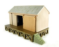 Scenecraft BSC44006 Scenecraft Corrugated Goods Shed OO Scale