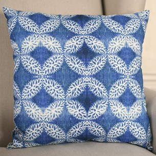 Moroccan Blue Cushion
