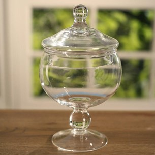 Glass Jar - 22cms