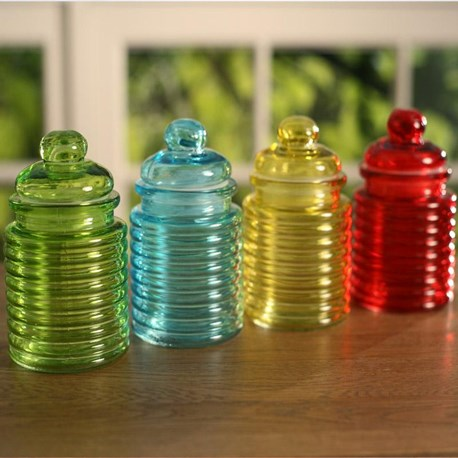 Coloured Canisters - Four Colours