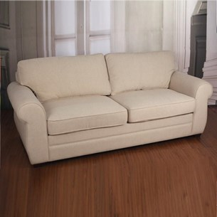 Sofa Two Seater 100% Linen 'Wentworth'