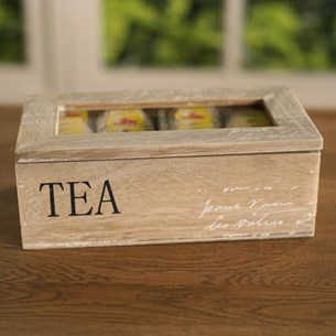 Tea Bag Timber Box
