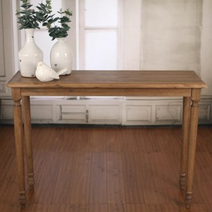 USA Oak 'Brittany' Sofa Table - Cream or Natural
