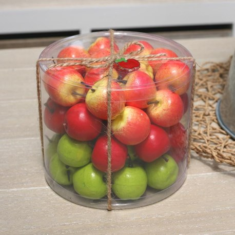 Mini Apples Vase / Glass Jar Filler