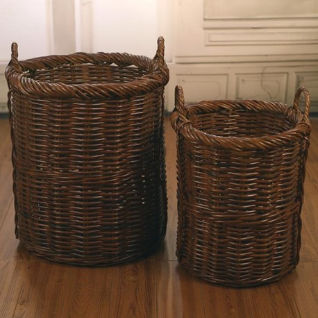 'Ploughmans' Laundry Baskets - Large or Small