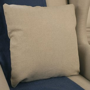 100% Linen Basics Cushion